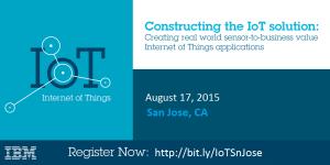 IoT event - San Jose